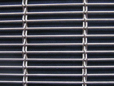 a rod is crossed with three rope mesh - Decorative Wire Mesh