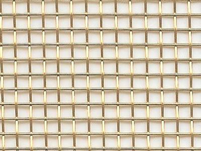 Decorative Wire Mesh for Fireplace Screen or Carpet