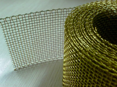 Brass Copper Wire Mesh Cloth and Metal Sheet