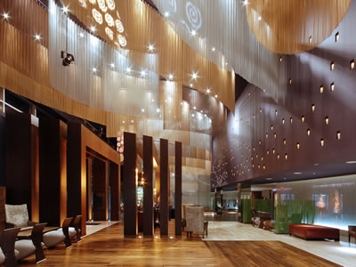 Lovely The Picture Shows Five Pieces Of Metal Mesh Curtain Decoration In Ceiling.
