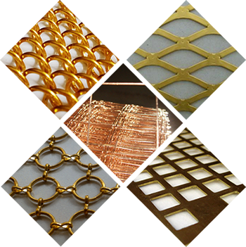 Brass Mesh and Copper Mesh for Decorative Mesh