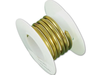Brass Wire in Coil and Spool for Jewelry Component